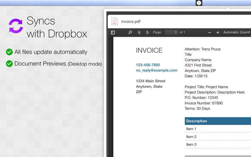 Screenshot 2 for iDownload for Dropbox