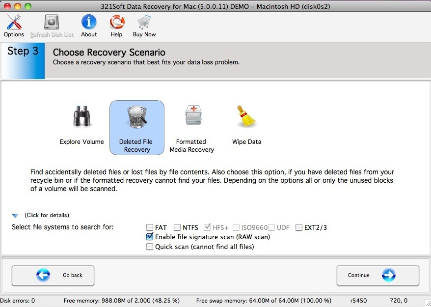 Screenshot 5 for 321Soft Data Recovery