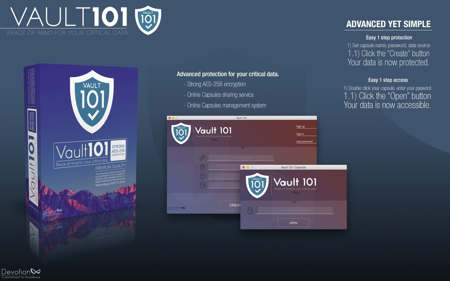 Screenshot 1 for Vault 101