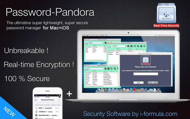 Screenshot 1 for Password Pandora