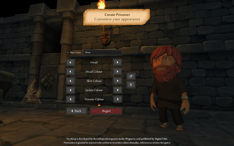 Screenshot 1 for TinyKeep