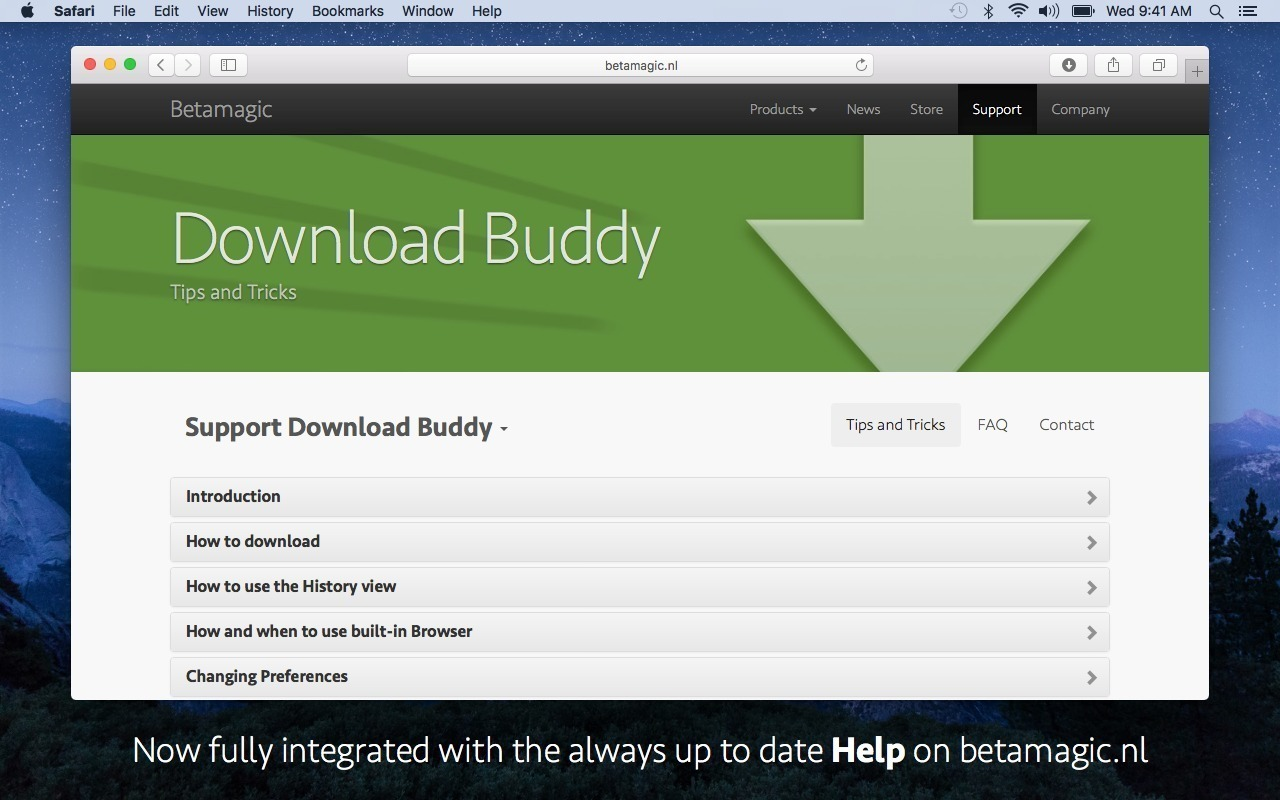 Screenshot 3 for Download Buddy