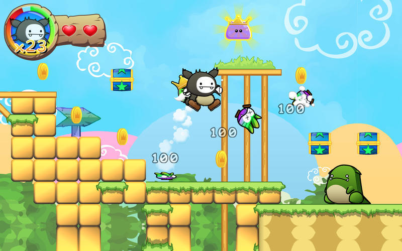 Screenshot 2 for Wacoon Jump!