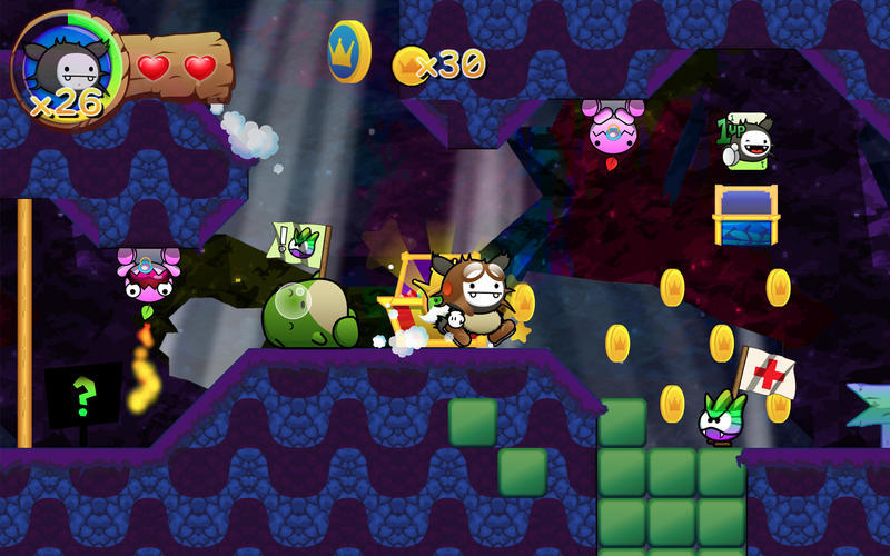 Screenshot 3 for Wacoon Jump!