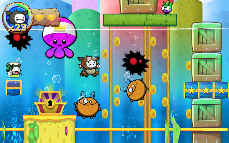 Screenshot 4 for Wacoon Jump!