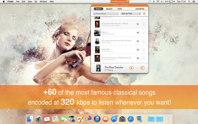 Screenshot 1 for myTuner Classical Pro