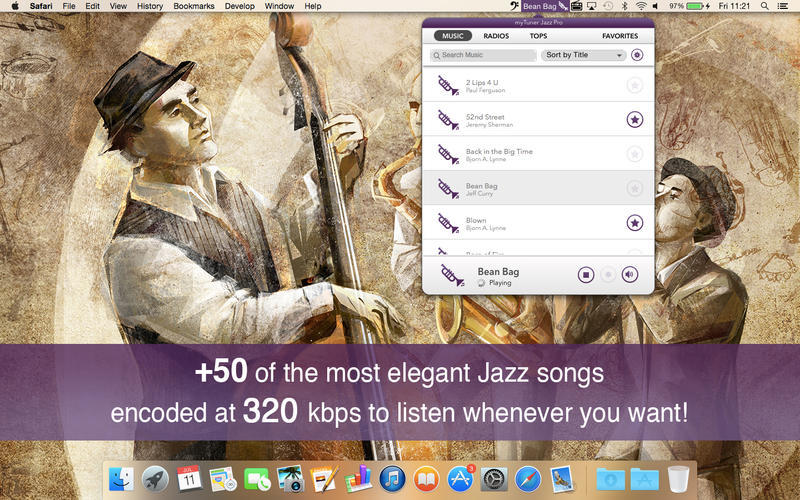 Screenshot 1 for myTuner Jazz Pro