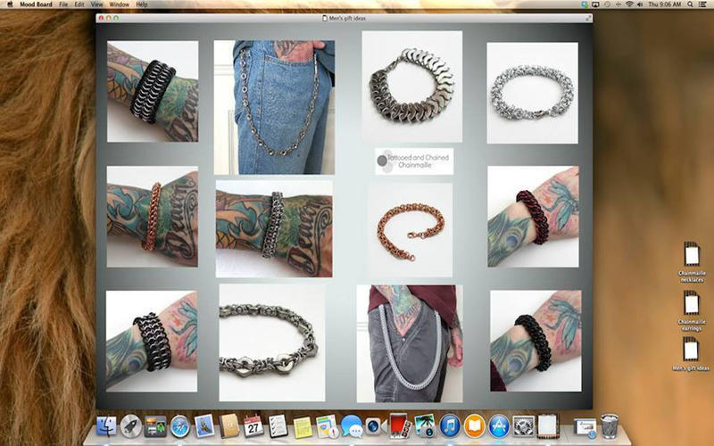 Screenshot 1 for Mood Board