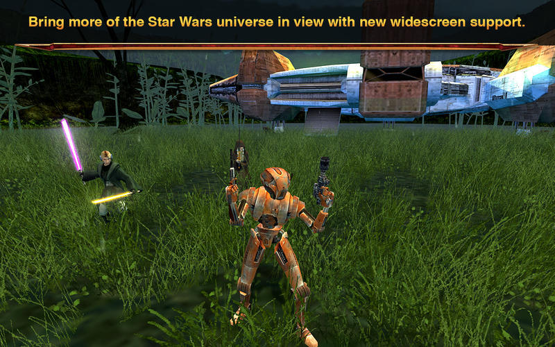 Screenshot 1 for Star Wars: Knights of the Old Republic II