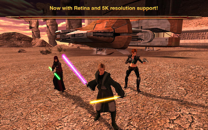Screenshot 2 for Star Wars: Knights of the Old Republic II