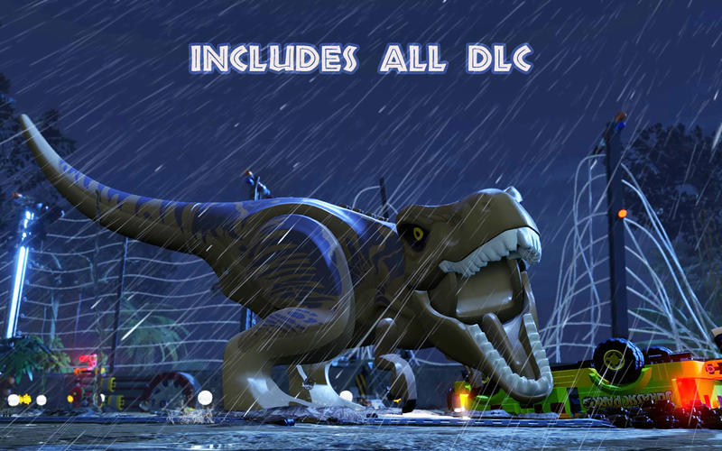 Screenshot 1 for LEGO Jurassic World