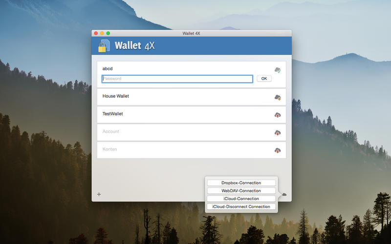 Screenshot 3 for Wallet 4X