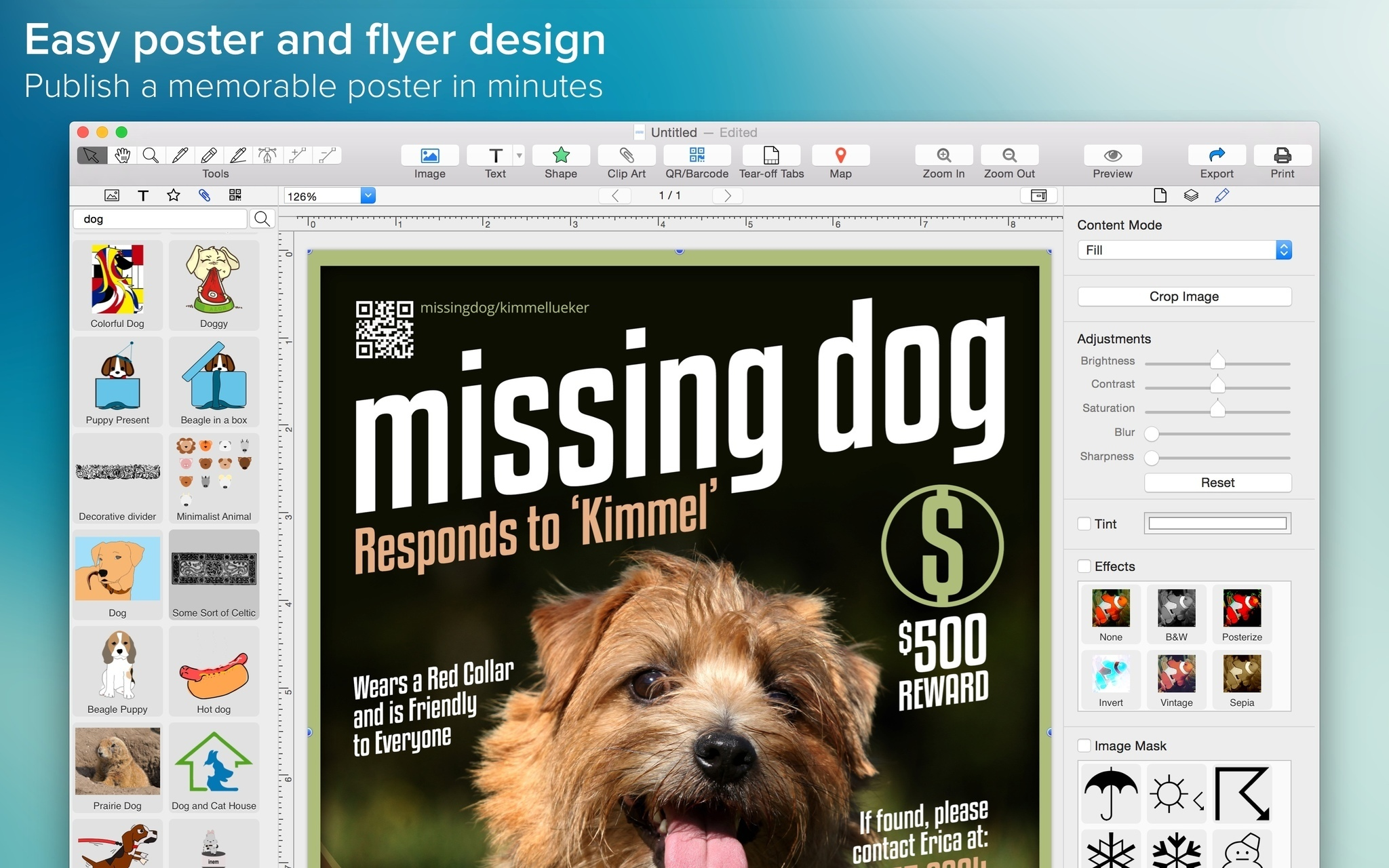 brochure design software for mac - poster maker 1 1 0 free download for mac macupdate
