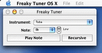 Screenshot 1 for Freaky Tuner