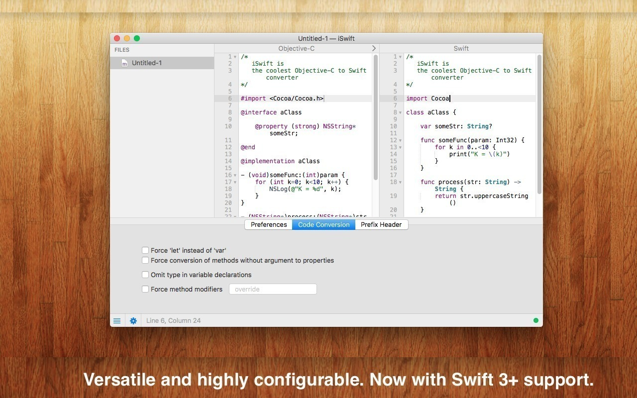 Screenshot 2 for iSwift