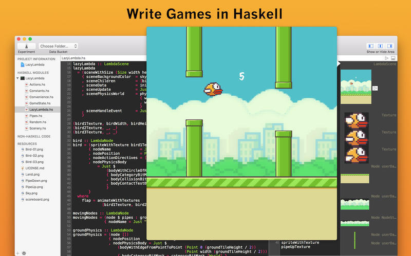 Screenshot 2 for Haskell