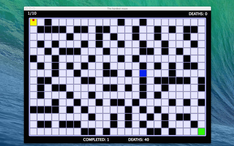 Screenshot 1 for The Hardest Maze