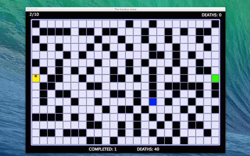 Screenshot 2 for The Hardest Maze