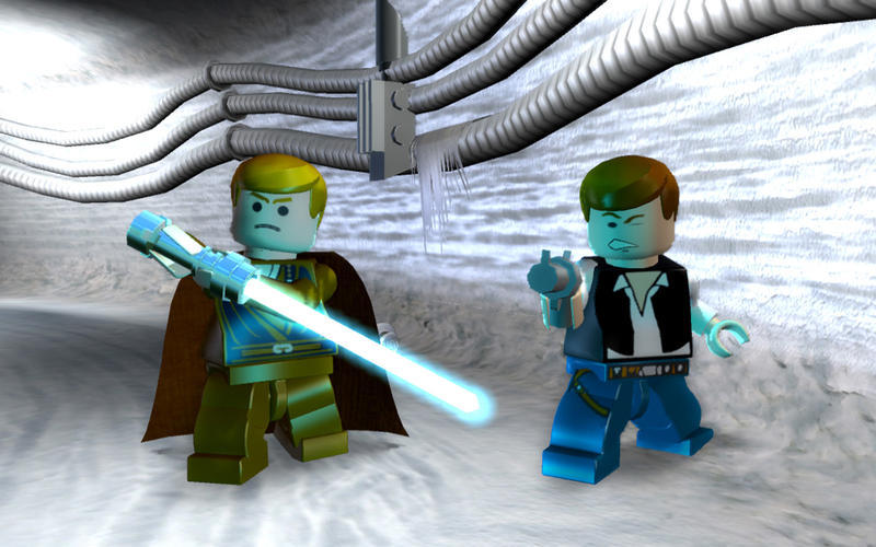 Screenshot 1 for LEGO Star Wars Saga