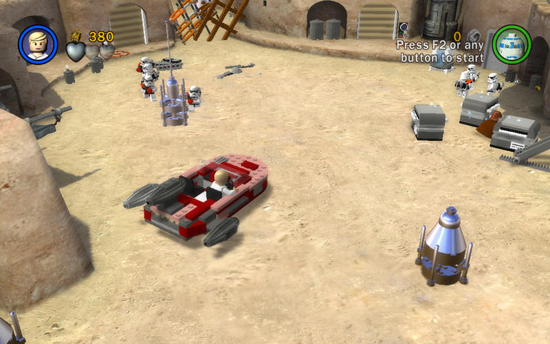 Screenshot 2 for LEGO Star Wars Saga