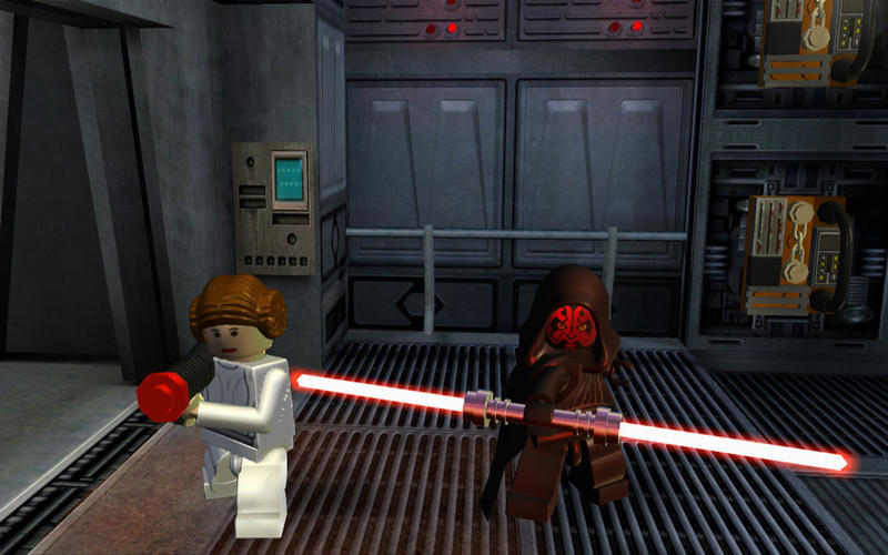 Screenshot 4 for LEGO Star Wars Saga