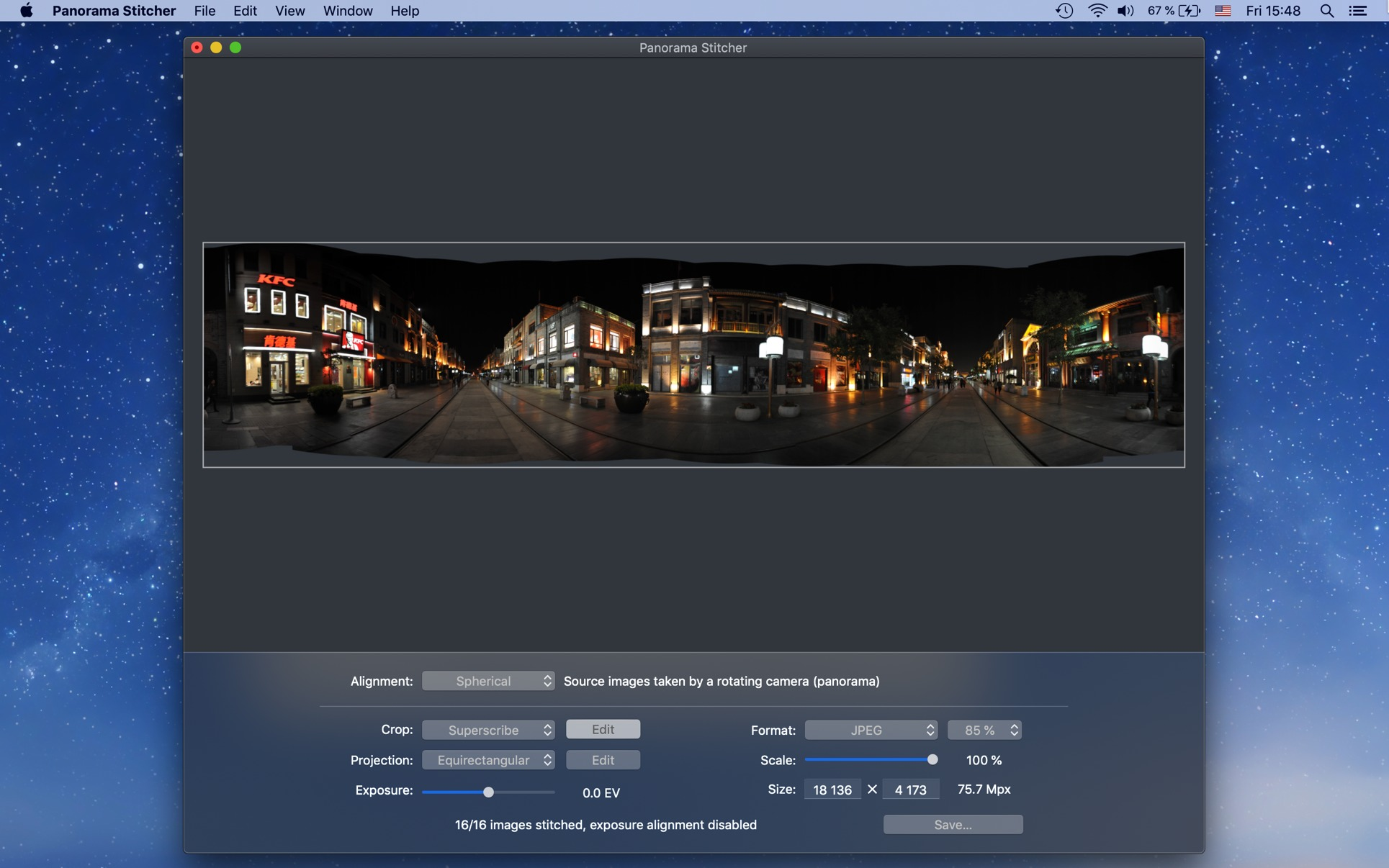Panorama Stitcher for Mac | MacUpdate