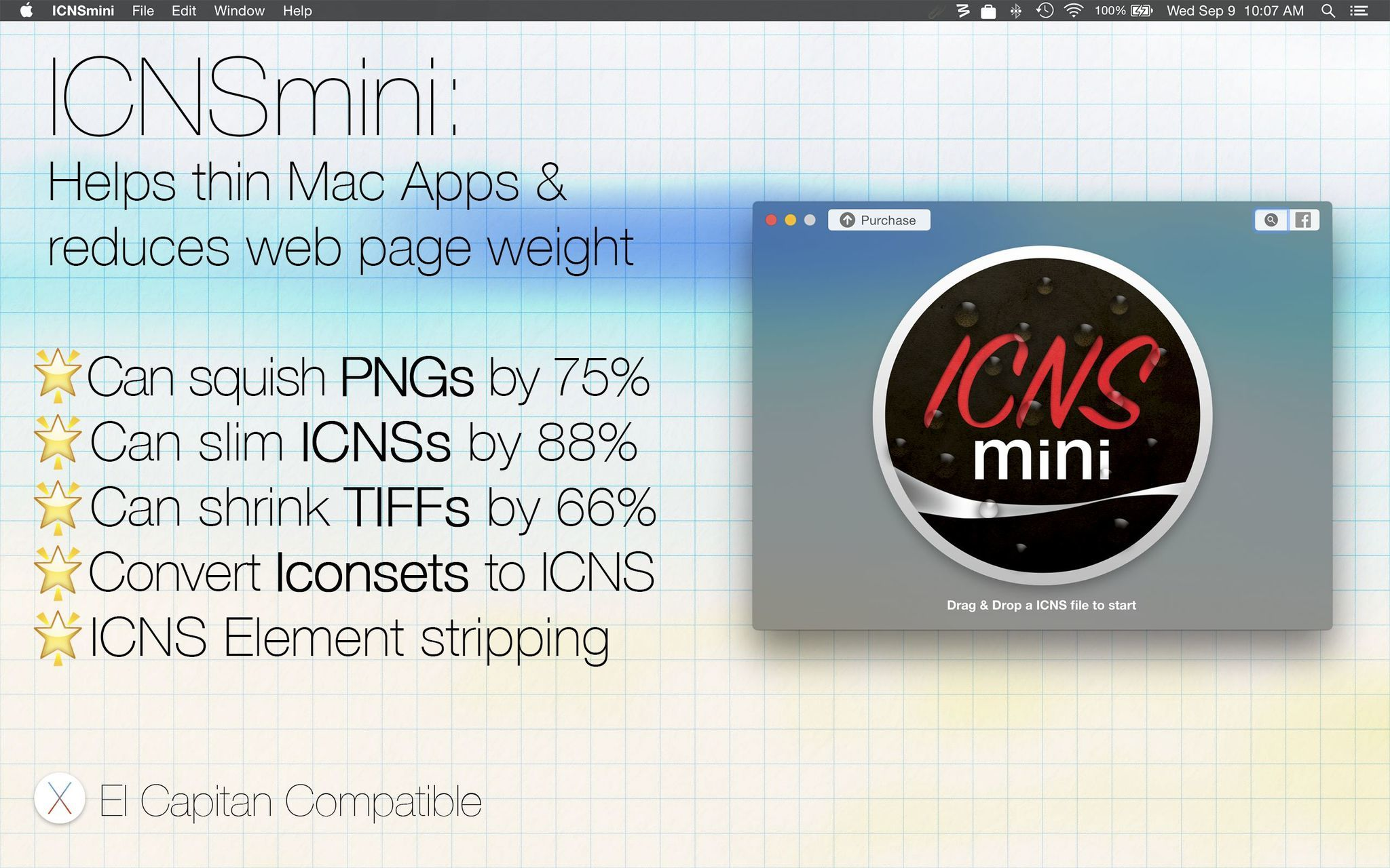 Screenshot 1 for ICNSmini