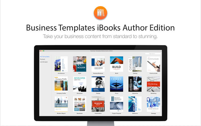 Screenshot 1 for Business Templates iBooks Author Edition