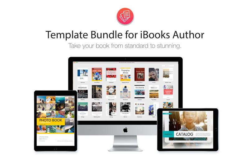 Screenshot 1 for Template Bundle for iBooks Author