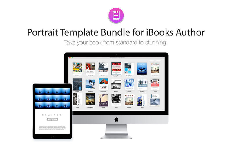 Screenshot 1 for Portrait Templates iBooks Author Edition