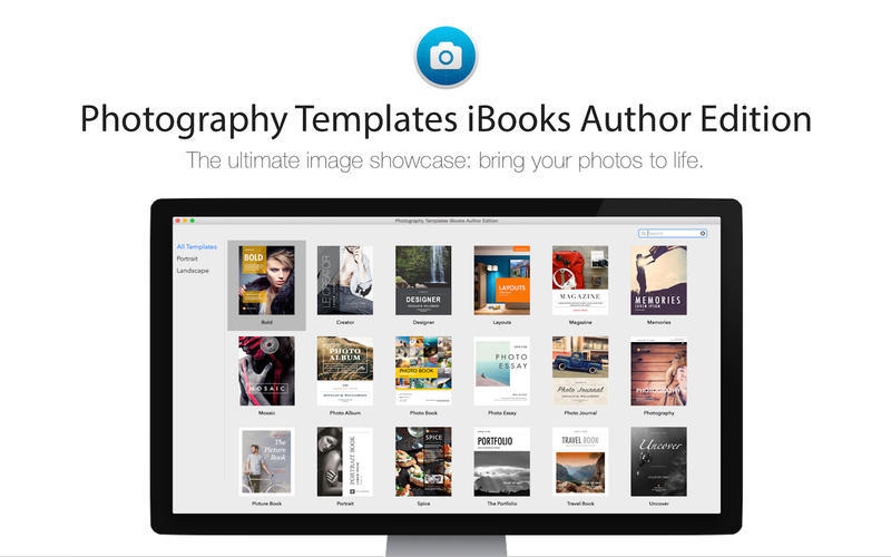 Screenshot 1 for Photography Templates iBooks Author Edition