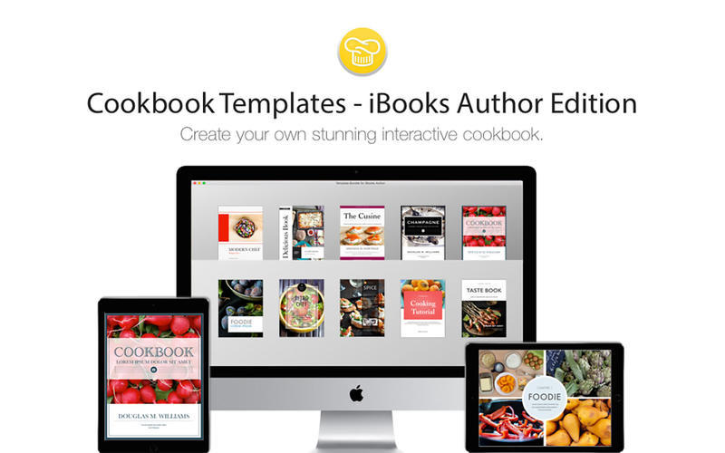 Screenshot 1 for Cookbook Templates iBooks Author Edition