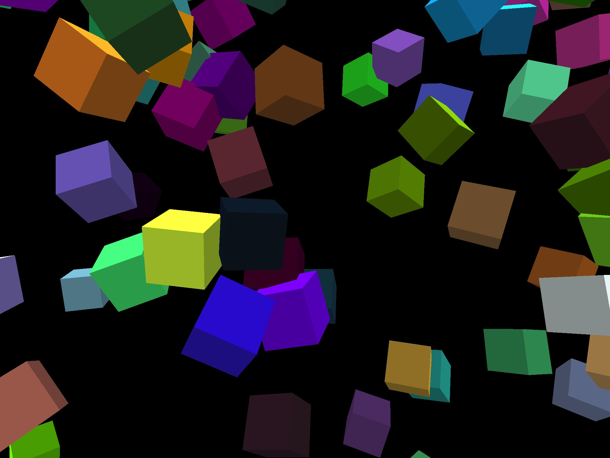 Screenshot 1 for RainingCubes