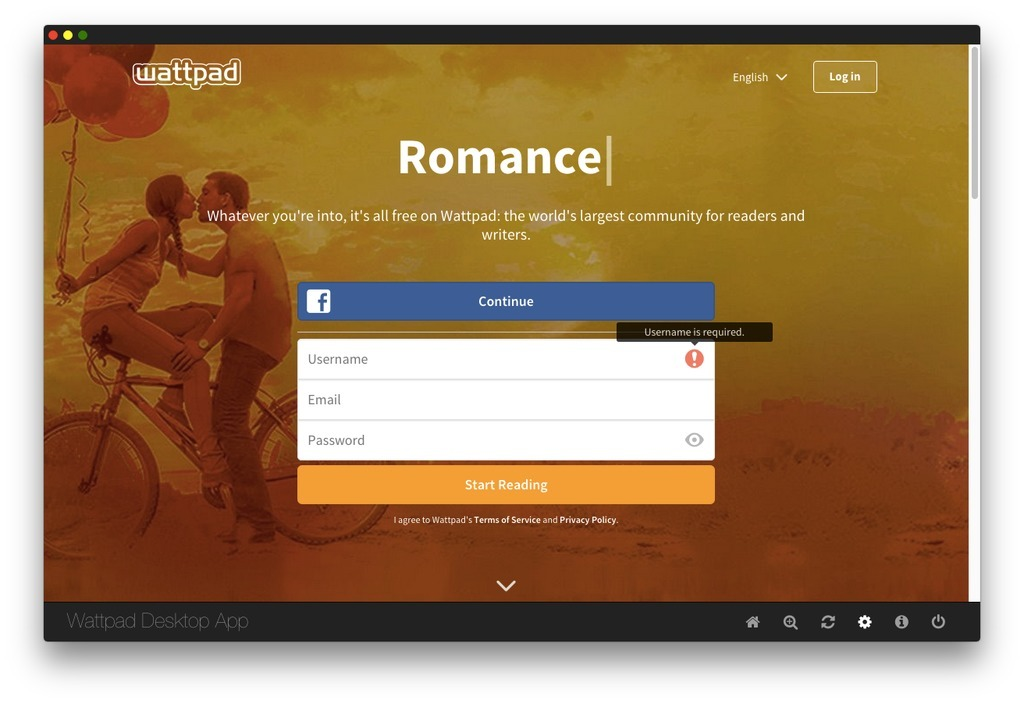Screenshot 2 for Wattpad Desktop