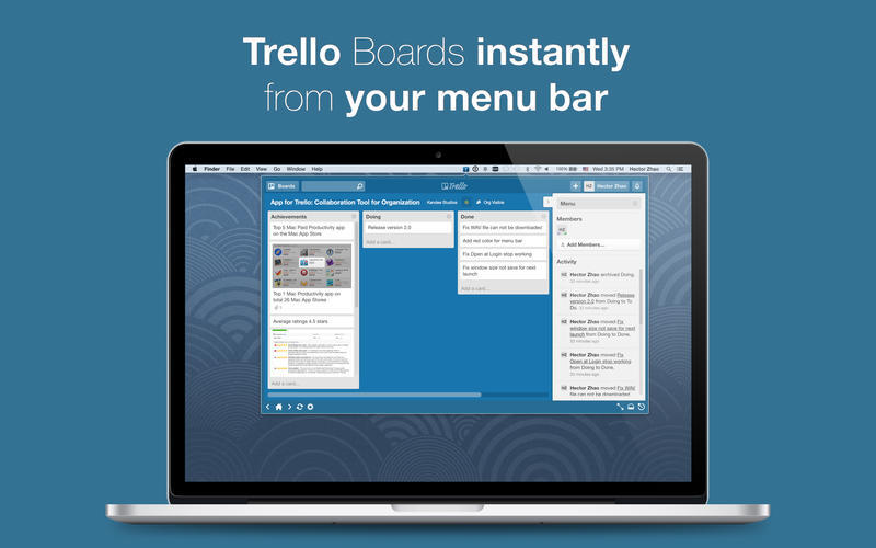Screenshot 2 for App for Trello