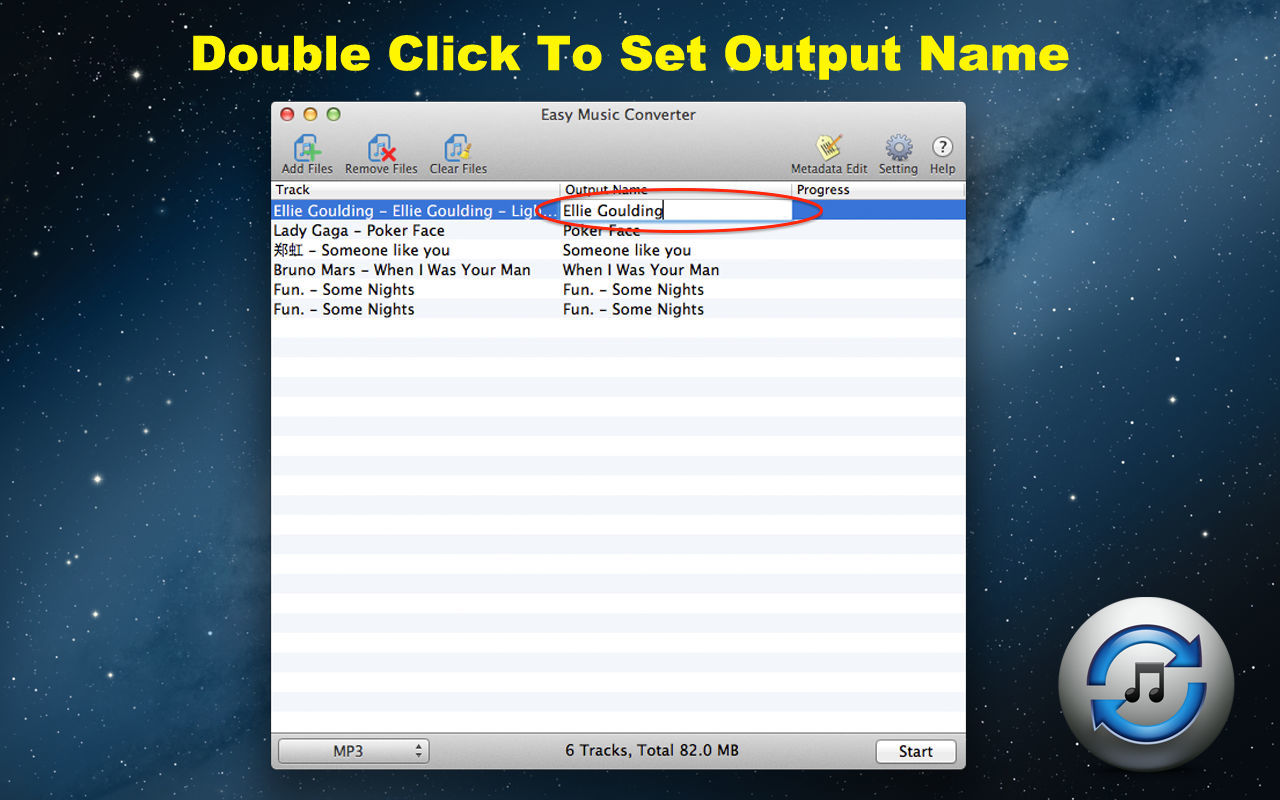 Screenshot 2 for Easy Music Converter