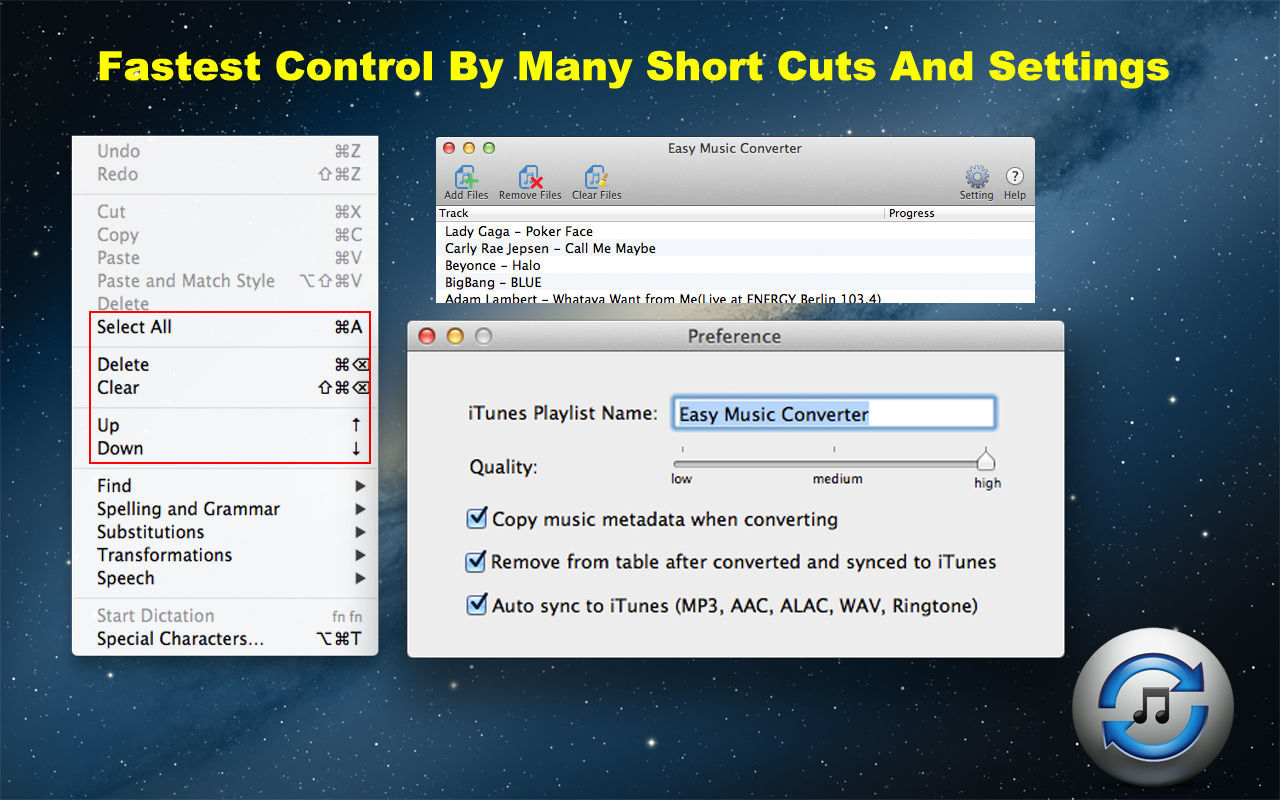 Screenshot 4 for Easy Music Converter