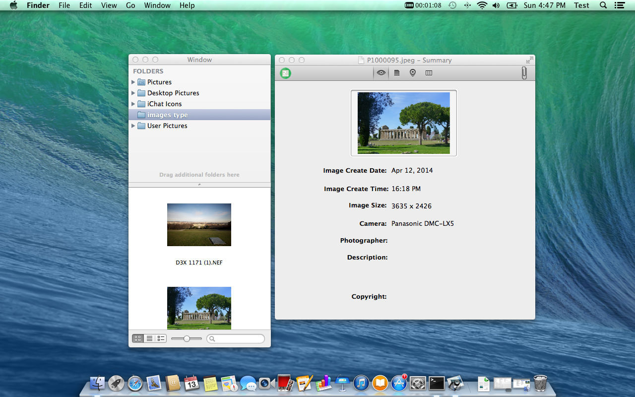 Screenshot 2 for Image Exif Viewer