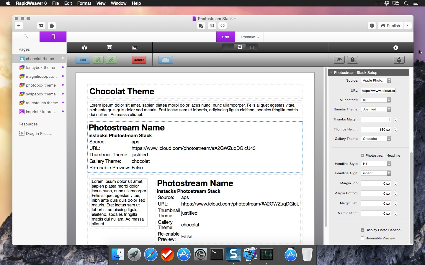 Screenshot 1 for Photostream Stack