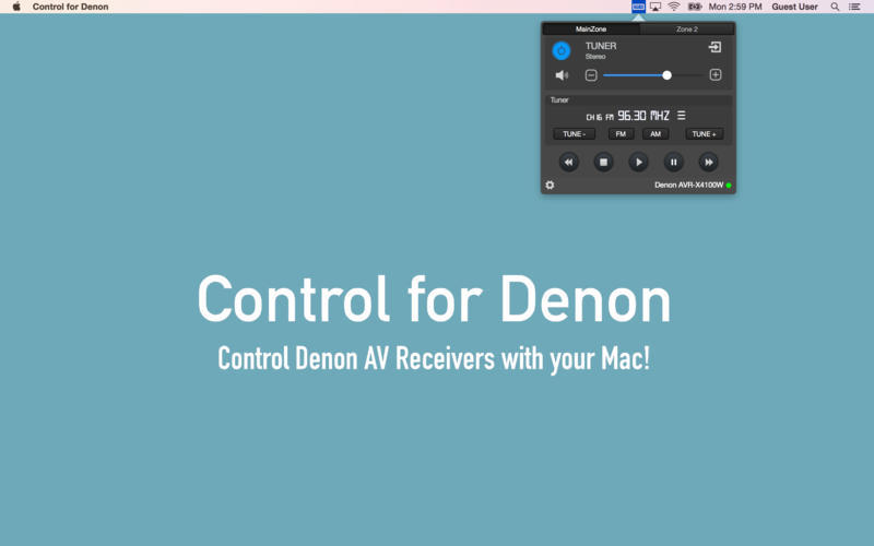 Screenshot 1 for Control for Denon