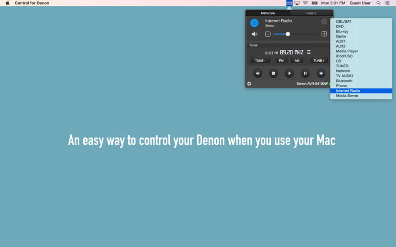 Screenshot 2 for Control for Denon