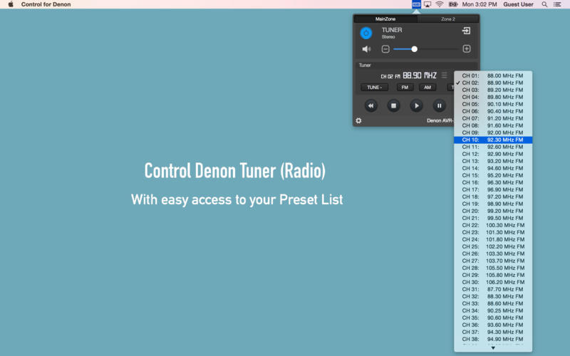 Screenshot 3 for Control for Denon