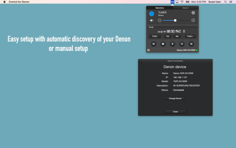 Screenshot 4 for Control for Denon