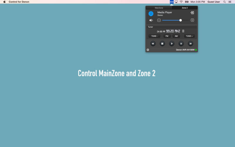 Screenshot 5 for Control for Denon