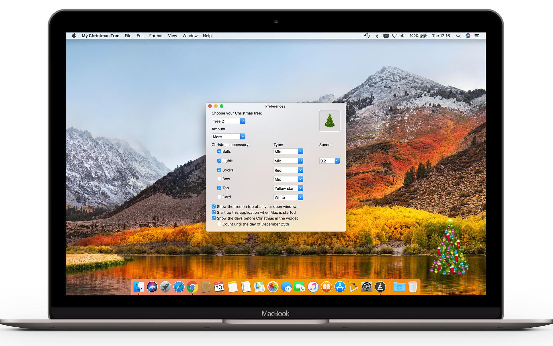 Desktop tree for mac computers