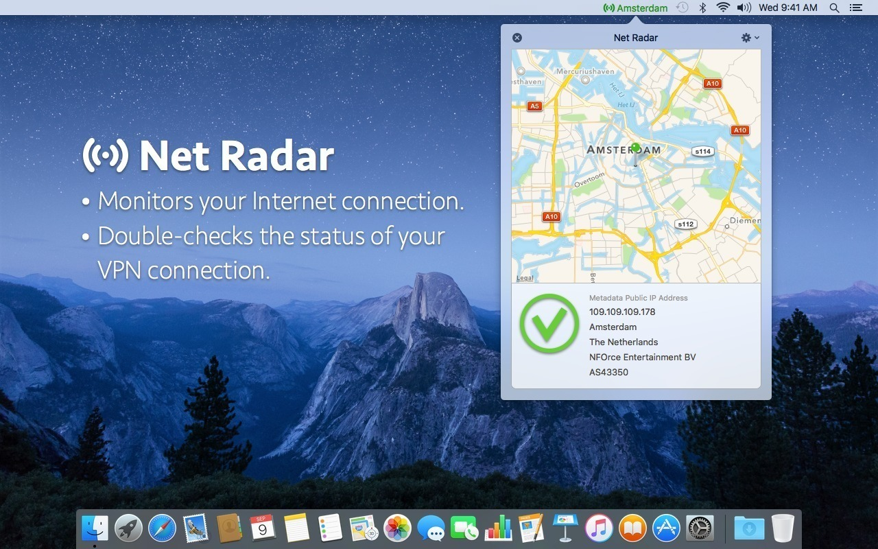 Screenshot 1 for Net Radar