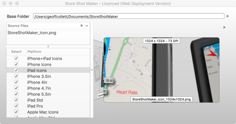 Screenshot 1 for StoreShotMaker