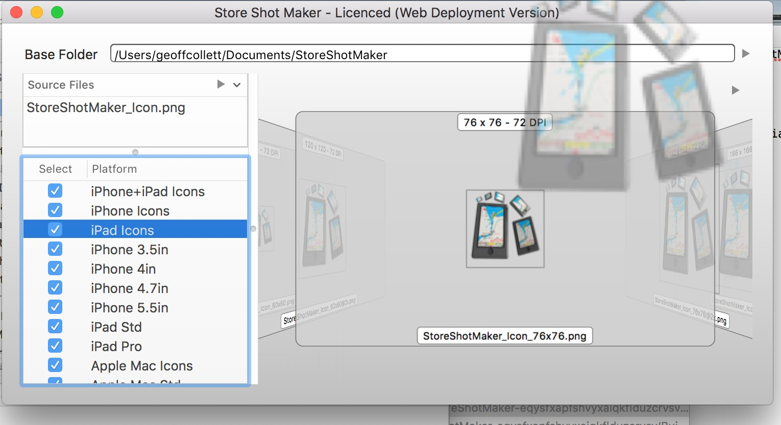 Screenshot 2 for StoreShotMaker
