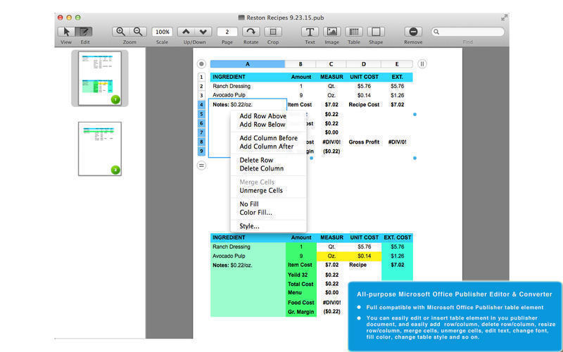 Screenshot 3 for PUB Editor Pro