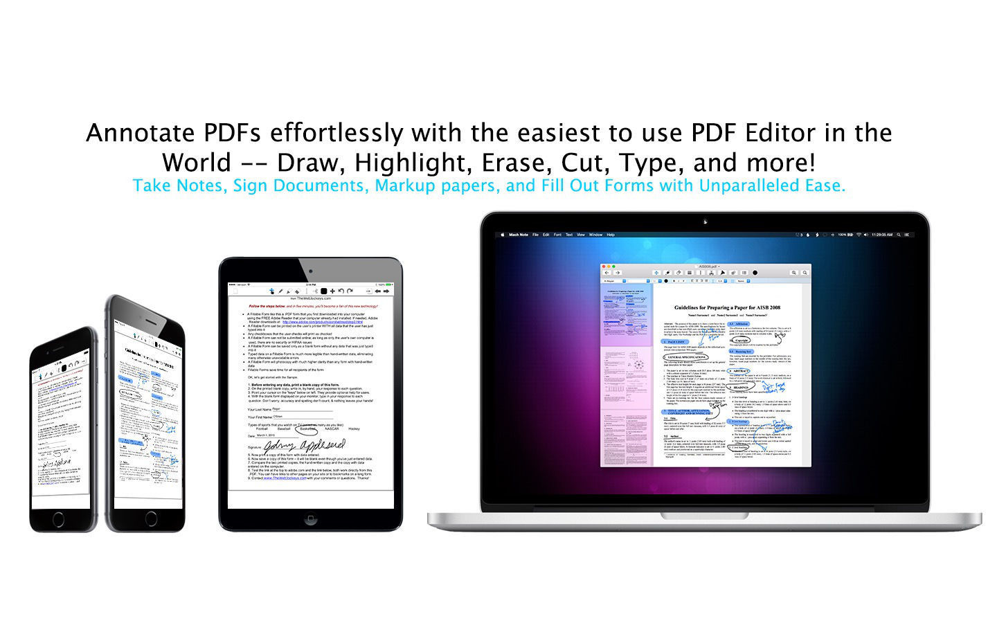 Screenshot 4 for PDF Draw Pro